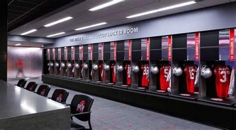 ohio state football locker room the ohio state locker room renovation barton malow company