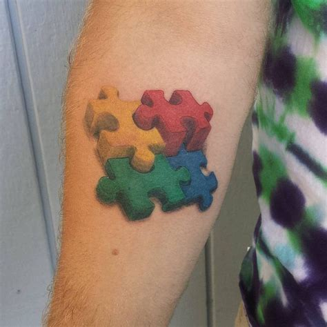 autism puzzle piece tattoo designs 17 best ideas about autism tattoos on autism