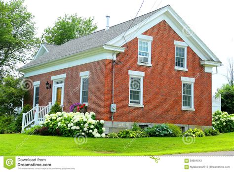 red brick house red brick house stock photo image 59894543
