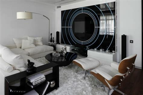 Salon Noir Et Blanc Et Gris by Chambre Et Blanche Signification Des Couleurs Et