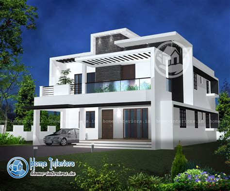 new house design kerala 2015 double floor modern style home design 2015