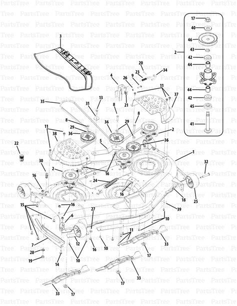 cub cadet rzt 50 parts diagram cub cadet rzt50 17ai2acp010 17ai2acp056 17wi2acp010