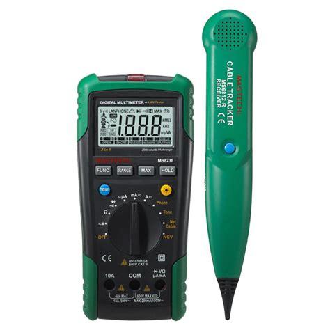 Tone Cheker Wire Tracker Lan Tester Cable Tracker Multi Purpos mastech ms8236 auto range digital multimeter lan tester net cable tracker tone telephone line