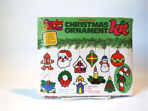 makit bakit christmas ornament kit 12 ornaments