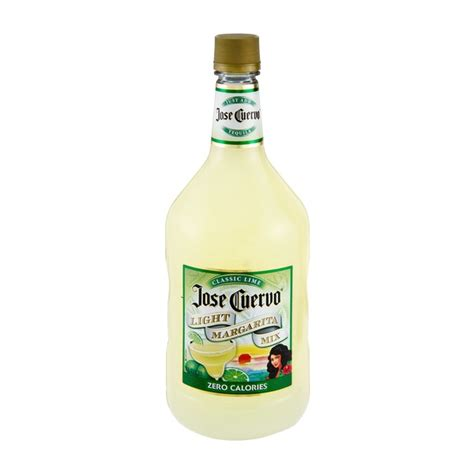 jose cuervo light margarita mix carbs bacardi margarita mix nutrition facts