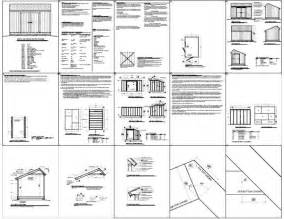 shed work 4 x 8 saltbox shed plans
