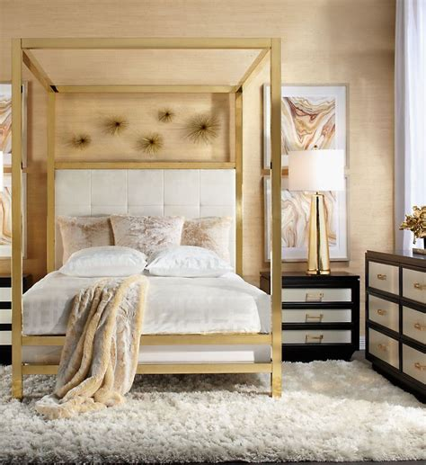Gold Canopy Bed Gold Canopy Bed 10 Gold Canopy Bed Quotes Bangdodo Adora Graphite Glam Gold Canopy Bed