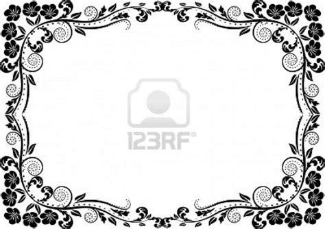 decorative border self branding