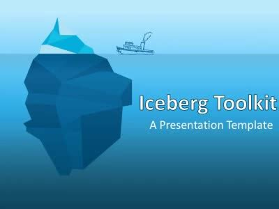 Wildlife And Nature Powerpoint Templates At Presentermedia Com Iceberg Powerpoint Template