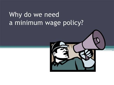 why do we need a minimum wage minimum wage policy in hong kong