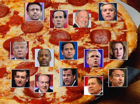 Table Pizza Atascadero by County Tea Hosts Pizza And Debate 3