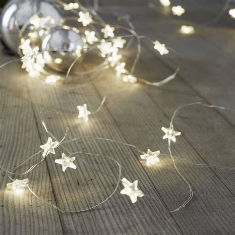 star fairy lights for bedroom star fairy lights 30 bulbs the white company us
