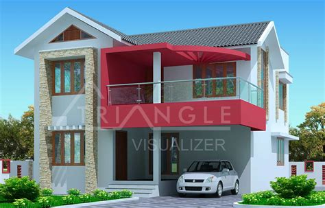 House Plans In Kerala With 3 Bedrooms Kerala House Plan 3 Bedroom Exterior House Design