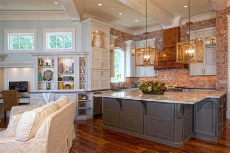 brick backsplash kitchen the best inspiration for