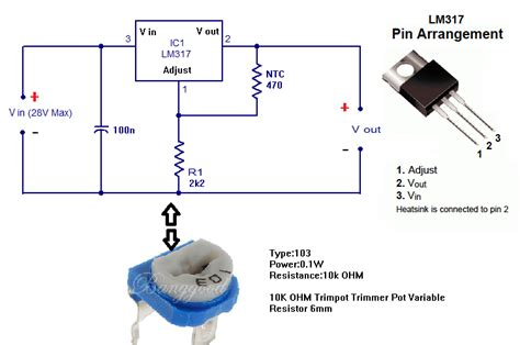 datasheet resistor variable 10k pc fan by temperature