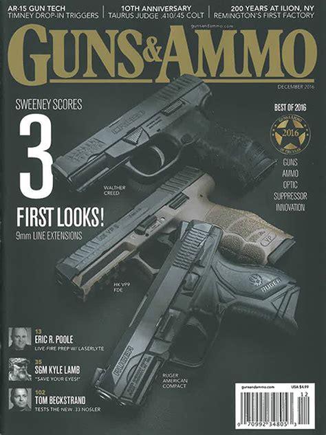 subscription discount guns ammo magazine subscription discount gun magazines
