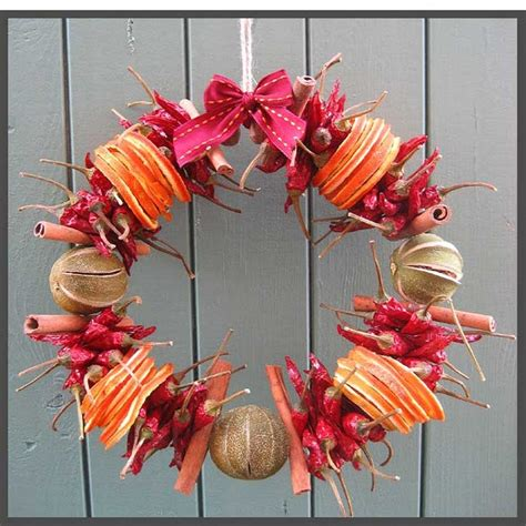 dried fruit wreath wreaths for every occasion pinterest