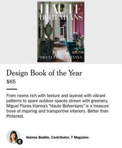 Haute Gift Guide Fashionable Books by Haute Bohemians Named Design Book Of The Year By Ny Times