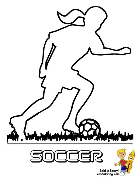 coloring pages of girl soccer players soccer girls sports coloring girls sports free girls