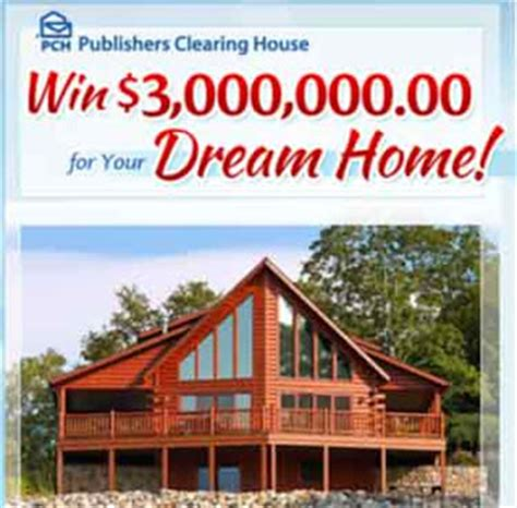 How Do I Enter The Pch Sweepstakes - pch 3 million dream home sweepstakes autos weblog