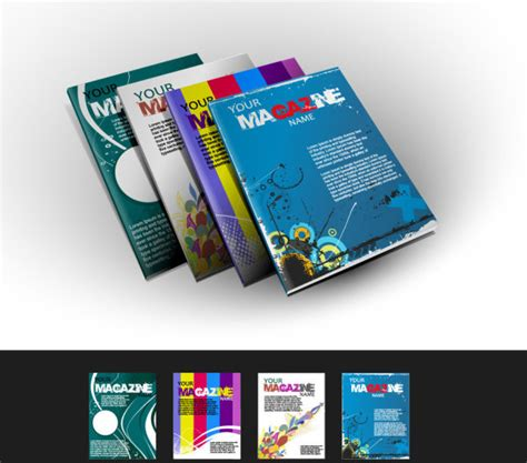 magazine cover design vector magazine free vector download 586 free vector for