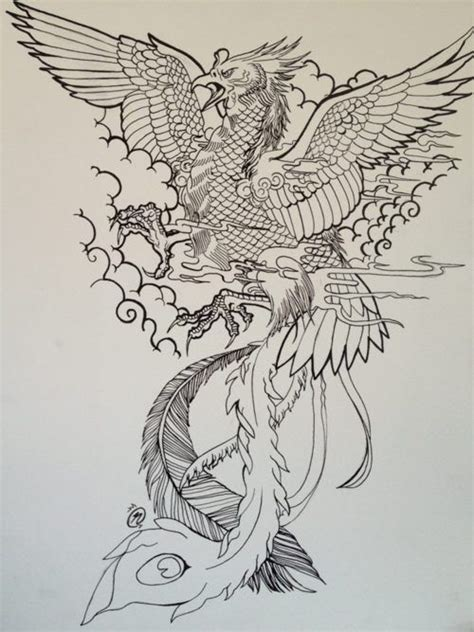 phoenix tattoo design by unmei wo hayamete on deviantart best japanese phoenix tattoo google zoeken tattoos