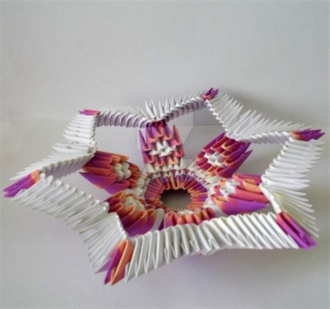 3d Origami Sculptures - 3d origami by designermetin on deviantart