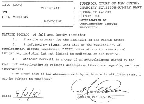 Divorce Consent Letter 中国茉莉花行动部落 Judge Miller Helped To Persecute