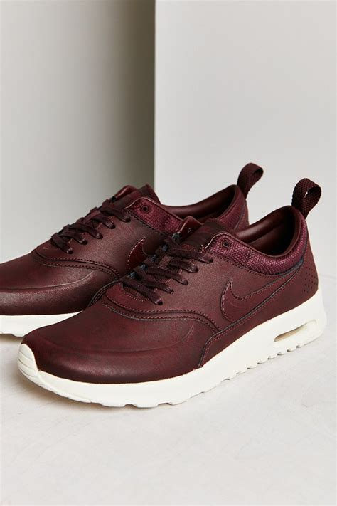 nike thea sneakers nike air max thea premium sneaker in brown lyst