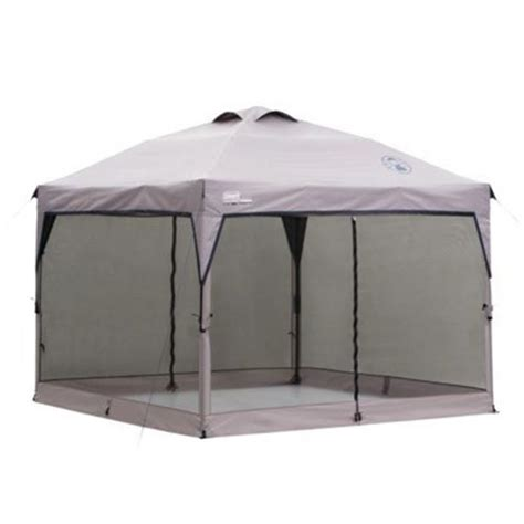 coleman screen room canopy coleman instant canopy screenwall accessory mesh walls for 10 x 10 sun shade ebay