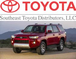 South East Toyota Southeast Toyota Distributors Recall 5 000 Toyota And