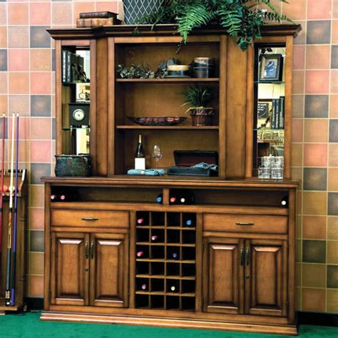 Hutch And Bar Bravado Cabinet Hutch By American Heritage Bars