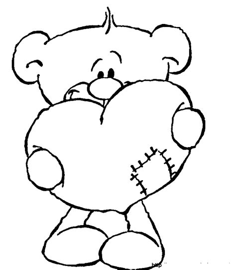 love bear coloring pages love coloring pages teddy bear love coloringstar