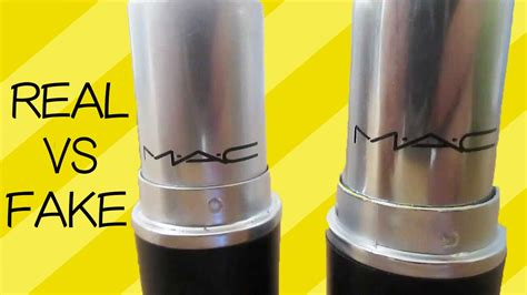 Lipstik Mac Original mac lipstick vs real ones aminachebbi