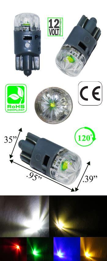 3 watt led light bulb t10 wedge 3 watt led bulb 12v dc automotive led lights