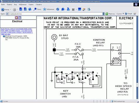 international 7400 wiring diagram international free