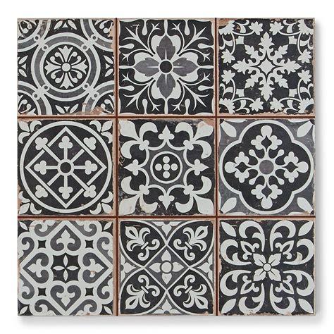 black patterned floor tiles tapestry black patterned tiles porcelain superstore