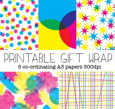 printable christmas wrapping paper a4 printable gift wrapping paper fun gift wrapping ideas