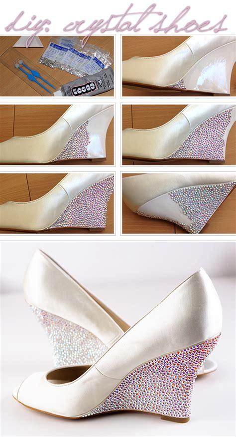 shoe diy how to apply swarovski rhinestone onto shoes