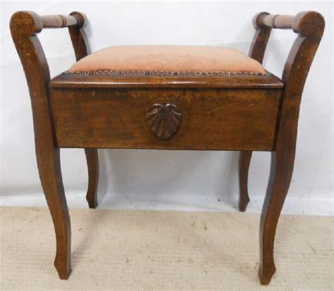 Walnut Piano Stool by Edwardian Walnut Piano Stool 221274 Sellingantiques Co Uk