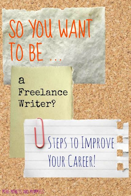 7 Reasons To Be A Freelance Writer by Mini Monets And Mommies How To Be A Freelance Writer In 7