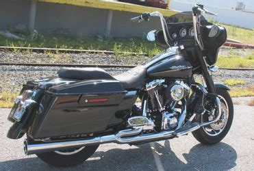 Fad 25 Exhaust 10inc Power Air ape hangers on a streetglide harley davidson forums