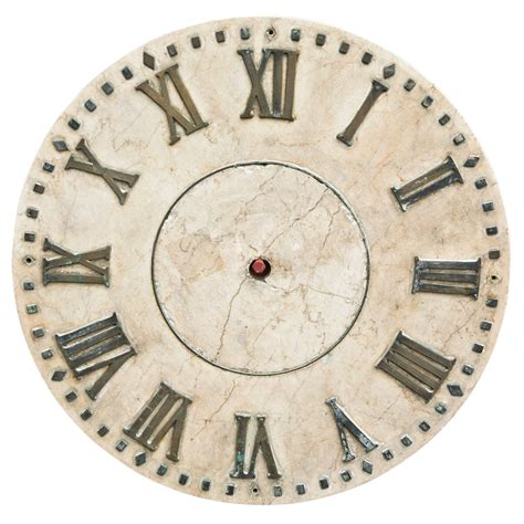 cool vintage art deco style alarm clock face and parts marble clock face at 1stdibs