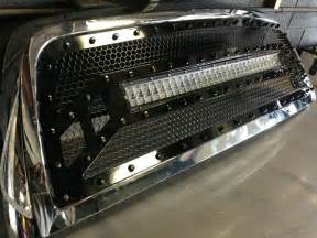 Dodge Ram Led Light Bar 2010 2011 2012 Dodge Ram 2500 3500 4500 Led Light Bar Grill