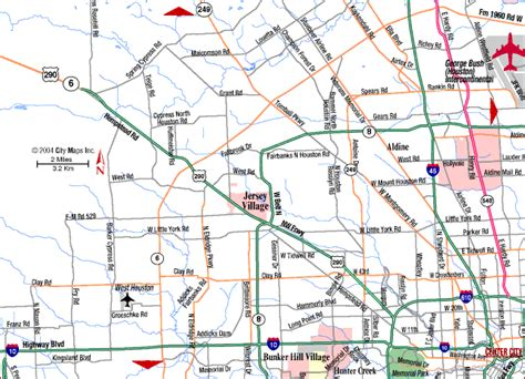 road map of houston texas northwest texas map