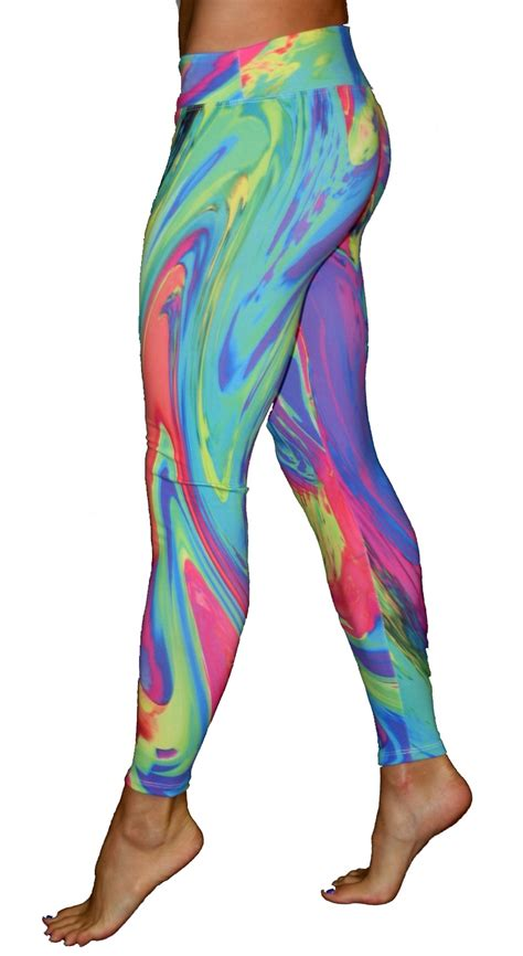 psychedelic leggins workout clothing
