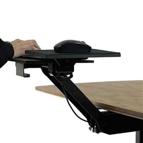 Swivel Keyboard Tray Desk by Ergonomic Adjustable Height Keyboard Tray Standing Desk