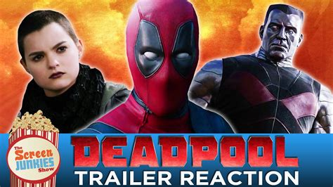 Or Trailer Reaction Deadpool Band Trailer Reaction Hit Or Miss