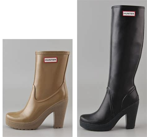 Is It Really Still Raining Wellies For Weather by High Heel Wellies Wellington Boot High Heel And
