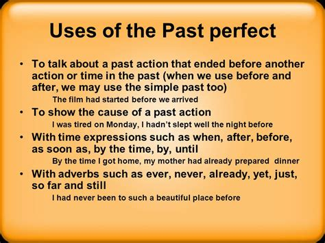 perfecting the past in simple past past continuous and past perfect tense ppt video online download